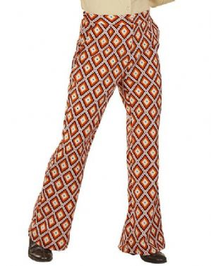 60's Groovy  XXL Flared Trousers Tubes (09256)